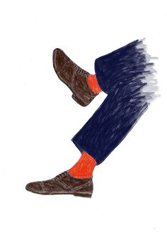 original illustrations for Max (June 2013) #fashion #illustration #men #shoes
