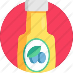 See more icon inspiration related to food and restaurant, olive oil, organic, vegan, healthy food, vegetarian, oil, olive, bottle and food on Flaticon.