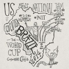 World Cup 2014 #1n1t #teamusa #world #usmnt #gfop #usa #brazil #cup