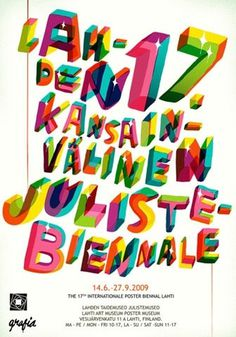FFFFOUND! | Forgotten-hopes #movement #type #colorful #poster