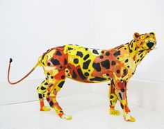 Beach Trash Used to Create Life Sized Animal Sculptures | PICDIT