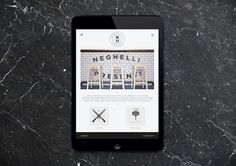 Neghelli 11 by Roberta Farese 16 #ipad #design #graphic #digital #identity #typography