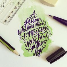 Inspirational Hand Lettering And Calligraphy Design