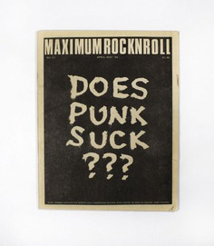 View Image 1 of 3 for Maximumrocknroll No. 13. Tim Yohannan.
