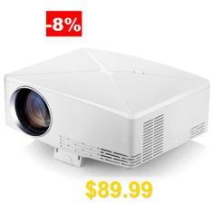 VIVIBRIGHT #C80 #LCD #Home #Theater #Projector #- #WHITE