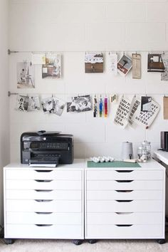 Spaces // Lindsay Stetson Thompson | Eva Black Design #office #work space #homeoffice