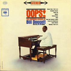 All sizes | Bill Doggett - Oops! | Flickr - Photo Sharing! #album #record #cover #1960s #illustration #artwork