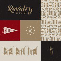 Revelry_brewing_charleston #revelry #brand #identity #fletcher
