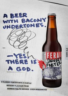 Feral Smoked Porter Ad #campaign #beer