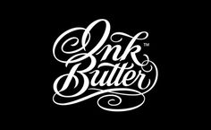 Ink Butter Logo Design #logo #design