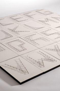 Ludd - Curvestitch Typography on Typography Served #typography