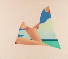 Tom Wesselmann, Seascape Dropout, 1982 #tom #illustration #wesselmann