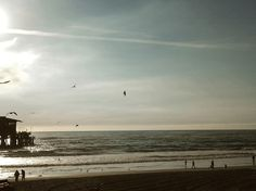 LA, 2012. #photography #pacific #beach #urban #USA #sunset #losangeles #pier