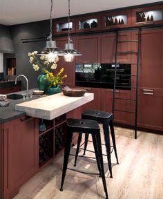Kitchen Design Trends 2018 / 2019 – Colors, Materials & Ideas - InteriorZine #kitchen #furniture #decor #design #trends