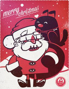 photo #santa #design #illustration #character #dog