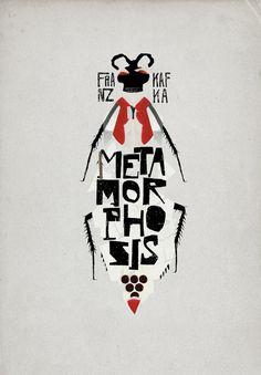 8 covers on Behance | Metamorphosis by Franz Kafka | by Christos Kourtoglou #illustration #collage #books