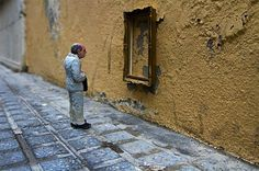 Cement Eclipses by Isaac Cordal #art #street