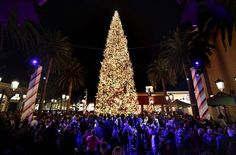 7 Christmas art tree in California in Newport beach #christmas #trees #art #tree