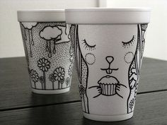 Coffee Cup Art – Fubiz™