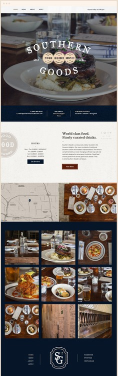Restaurant Website Design #restaurant #website #webdesign #restaurant #houston #food
