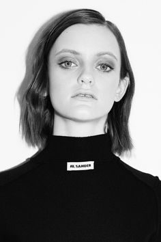 MAIN FASHION No.13 `EXHIBIT' starring Sydney Barber (IMG) photographed by Charles Dennington for friendthemagazine.com #sydneybarber #jilsander #friend #image #photography #fashion