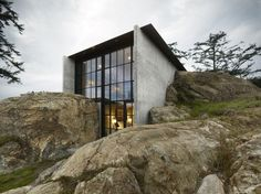 The Pierre, San Juan Islands design by Olson Kundig Architects - Architecture Design – Residential Building, Commercial Building, Public Buildings, #architecture
