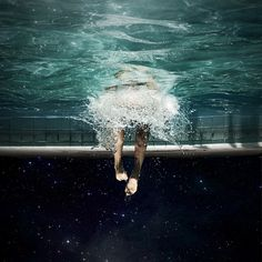 3 Visiones con blanqueador on the Behance Network #swimming #pool #photography #water