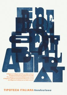 Ian Gabb : work #print #composition #poster #blue #typography