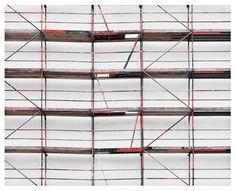 Image Spark Hailstorm #grids #pattern #facades