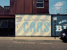 Hackney Wick signage #graffiti