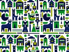 Rural packaging illustration #argijale