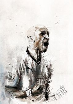 illustrations 2011 on the Behance Network #illustration #pencil #ink #pen #sports