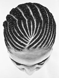 FFFFOUND!   So Yoon Lym's Paintings of Hair and Braid Patterns :: koikoikoi.com - Visual Arts Magazine, graphic design, illustration, phot
