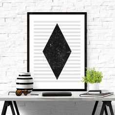 Geometric Print. #iloveprintable