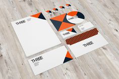 Stationery / Branding Mock Up Vol.3 on Behance #three