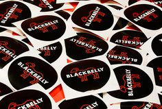 Blackbelly by Berger & Föhr #branding #sticker