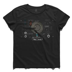 #orvach #gray #tee #tshirt #montaigne #control #botton #button #dial #mechanic