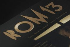 Magazine Layout Design Inspiration 1 #finishing #print #rom13 #typography