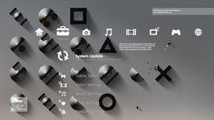 Sony Playstation xe2x80x94 Typographic illustration #xe2x80x94 #playstation #typographic #illustration #sony