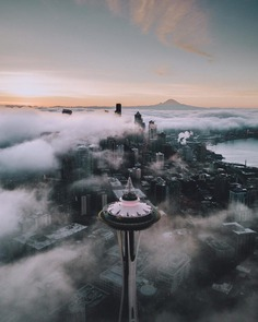 Stunning Night Cityscapes of Seattle by Tim Urpman