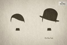 Its the hat... #print #advertisements