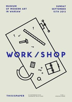 Work / Shop #typography #minimal #poster
