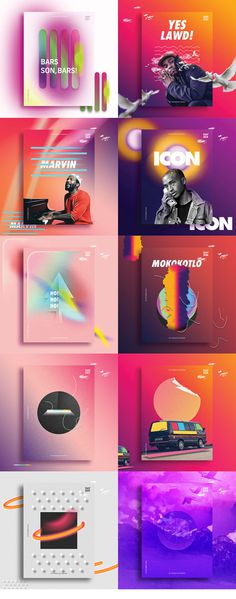 Poster Collection | 10 Days on Behance