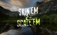 Chase Uvodich #scaleem #skinem #& #design #hunting #poster #fishing