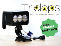 TriClops- HID Adaptive Lighting Technology #tech #flow #gadget #gift #ideas #cool