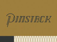 Dribbble #lettering #pattern #retro #vintage #gold #logo #typography