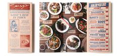 Graphic ExchanGE a selection of graphic projects #menu #food
