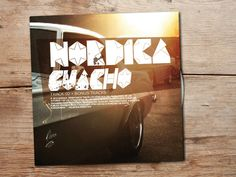 nordica: no me importa on Behance #pop #rock #cover #art #music #typo