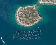 Fish Farms: Intensive Mass Fish Farming in Greece by Bernhard Lang
