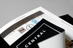 Central Magazine #pages #identity #layout #editorial #magazine